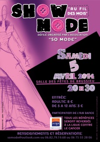 affiche Show Mode association So Mode
